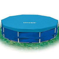 Тент защитный для каркасного бассейна диаметром 366 см Intex 28031 HN