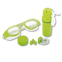 Набор для плавания Intex 26002 (очки, беруши, клипса для носа) ZN