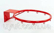 Кольцо баскетбольное UR (d кольца-30см, d трубы-16мм, металл)