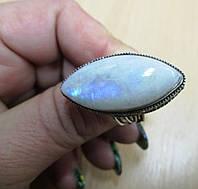 """Серебряный перстень """"Лунный маркиз"""" из натурального лунного камня , размер 18 от студии LadyStyle.Biz, фото 1"""