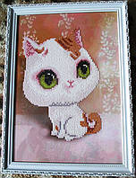 "Картина  ""Белый котенок"" от студии LadyStyle.Biz, фото 1"