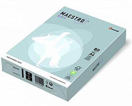 Папір Maestro Color Pastell A4 80 г/м2, 500 арк, MB30 середньо-синій