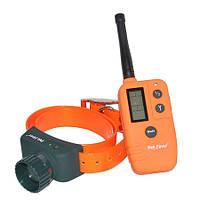 Ошейник с бипером для охотничьих собак электронный с пультом ДУ Petrainer 910B