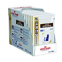 Вологий корм Royal Canin Gastro Intestinal для кішок, 0,1 КГ 12шт