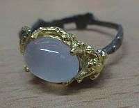 """Элегантный перстень """"Голубое небо """" с голубым халцедоном , размер 18,3 от студии LadyStyle.Biz, фото 1"""