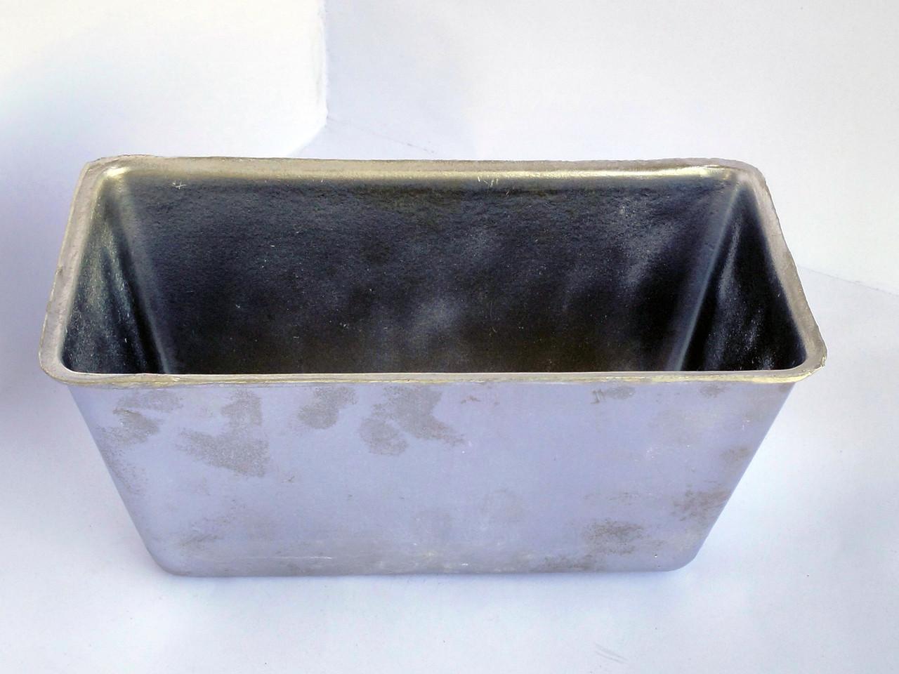 Хлебная форма из алюминия