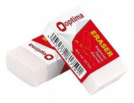 Гумка для олівця Optima, в індивідуальній упаковці, О81750