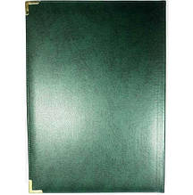 Папка привітальна Brisk, Miradur, формат А4, До Підпису, зелена