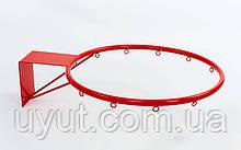Кольцо баскетбольное UR (d кольца-45см, d трубы-16мм, металл)