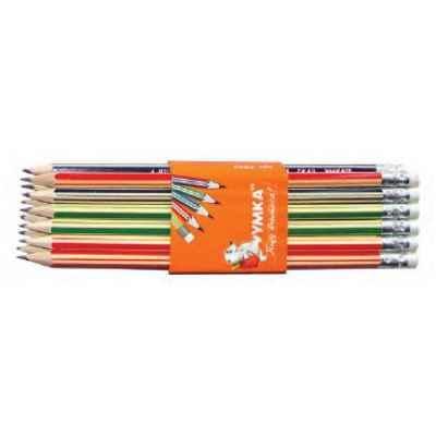 Олівець графітний Умка, ГК 43, НВ,  з гумкою