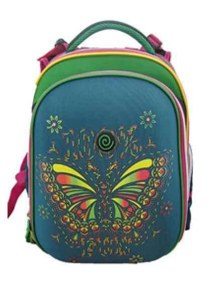 Ранець SchoolCase, Class, Butterfly, 9625, 39*28*21см