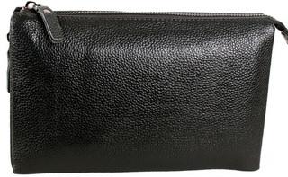Класичний чоловічий шкіряний клатч BLACK006-3 чорний