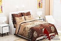 1,5-спальный комплект. Постельное белье классика. Постель для дом. Комплект постельного белья.