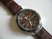 Стильные часы Tissot шоколадного цвета от студии LadyStyle.Biz, фото 1