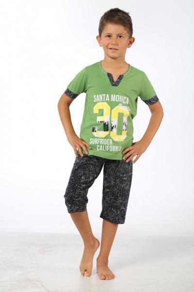 Комплект футболка и капри для мальчика SEXEN  39121 на 4-5 лет