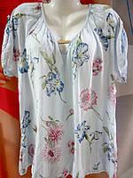 Летняя блуза из тонкой ткани