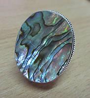 Серебряное кольцо с галиотисом , размер 17,6 от студии LadyStyle.Biz, фото 1