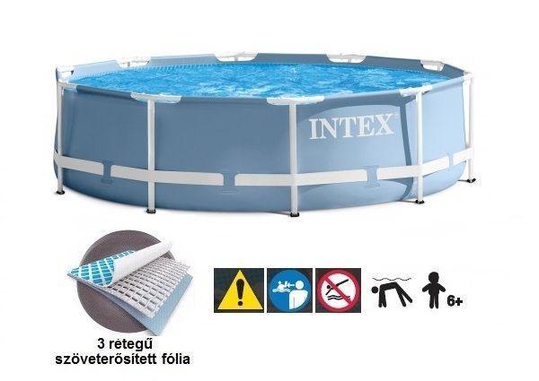Каркасный бассейн Intex 28702 + фильтр и насос