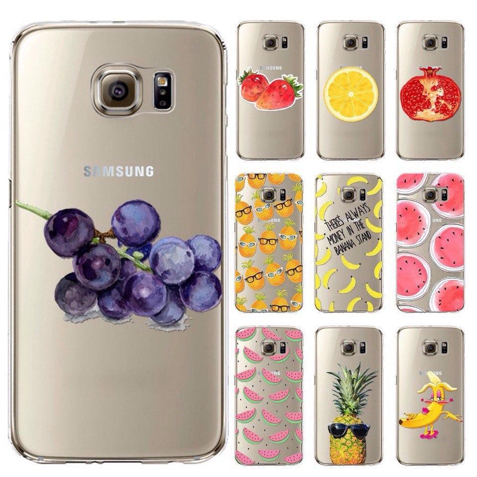 Samsung GALAXY S7 чехол силиконовый и картинкой