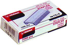 Скоби для степлера Norma, 4722,  №10, 1000 штук