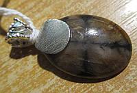 """Яркий серебряный кулон с хиастолитом (андалузитом)  """"""""Кардинал"""", от студии LadyStyle.Biz, фото 1"""