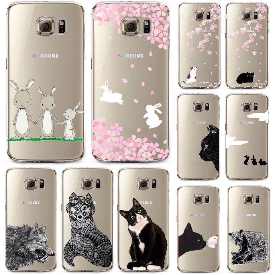 Чехлы для Samsung GALAXY S7 силиконовые