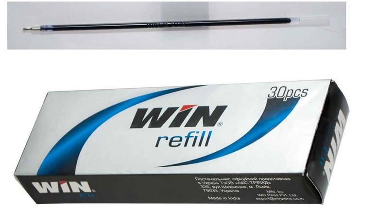 Стержень кульковий WIN, SLOG, масляний, 131 мм, чорний, фото 2