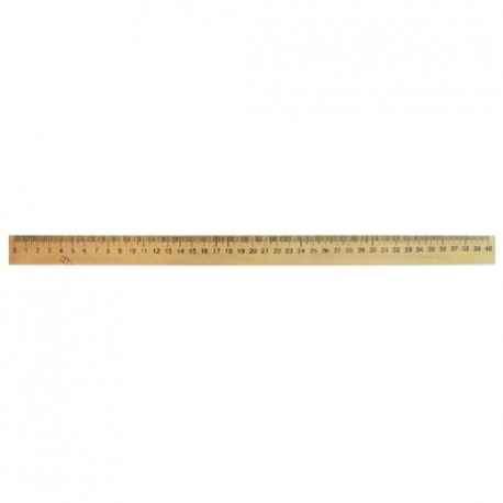 Лінійка дерев'яна шовкографія 40 см