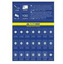 Етикетки самоклеючі  Buromax, 2 шт., 210х148,5мм (100 аркушів), BM.2813