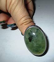 """Овальный перстень с пренитом """"Конго"""", размер 18,2 от студии  LadyStyle.Biz, фото 1"""