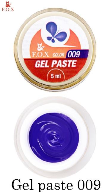 Гель-паста Fox №009