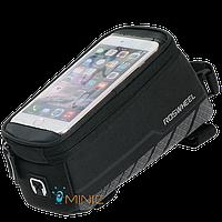 Велосипедная сумка на раму для смартфона Roswheel Elite 12496-A6, фото 1