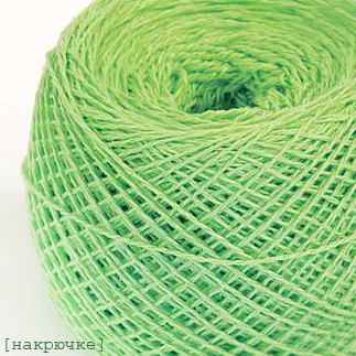 Пряжа для вязания крючком Ярослав цвет №77 салатовый