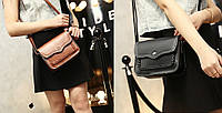 Женская сумка клатч с плетением
