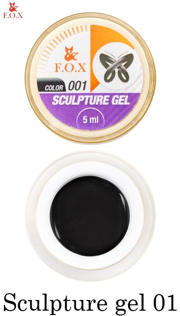 Гель-пластилин Fox Sculpture Gel №001