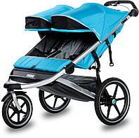 THULE Urban Glide 2 - Прогулочная коляска для двойни, цвет Blue