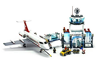 Конструктор JUBILUX J 5668 A Аэропорт, 791 деталь