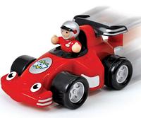 Игровой набор 10339 Гоночный автомобтль Робби гоночная, инер-я, фигурка