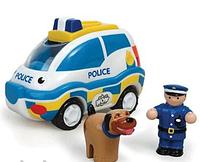 Игровой набор Wow toys 04050 Полицейский патруль - полиция, фигурка, собачка