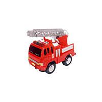 Инерционная Пожарная машина Toyo Toys 1004 SR