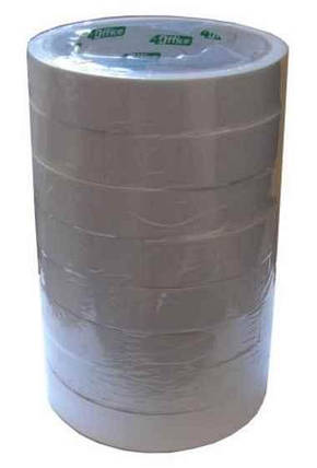 Двохстороння клейка стрічка 4Office, 4-387, 24 мм * 20 м, фото 2