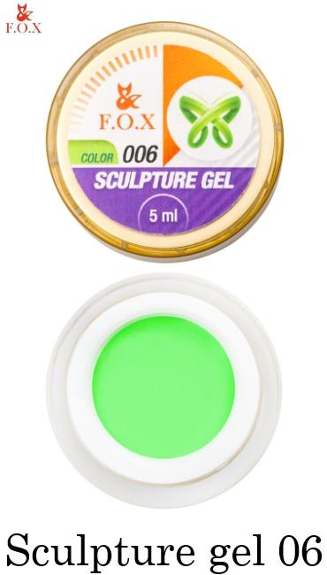 Гель-пластилин Fox Sculpture Gel №006