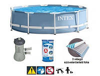 Каркасный бассейн Intex 28712 + фильтр и насос