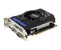 Видеокарта GeForce GT730 OC, MSI, 2Gb DDR3, 64-bit, VGA/DVI/HDMI, 1006/1800MHz (N730K-2GD3/OCV1)
