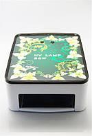 УФ лампа для наращивания с выдвижным дном 36 Вт, лампа YRE-005 L-22, лампы для маникюра