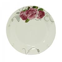 Тарелка 17 см Розы SNT 30000-1487
