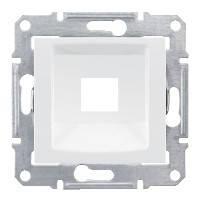 Накладка для 1 мод RDM кат. 5е 6 UTP, белый, Sсhneider Electric Sedna Шнайдер Седна