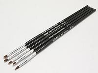 Набор кистей (5 шт. черные) NK-12 YRE