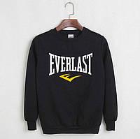 Кофта без капюшона Everlast, черная.