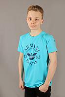 Футболка тенниска мужская в стиле Armani Jeans 14742 Размеры M XL XXL